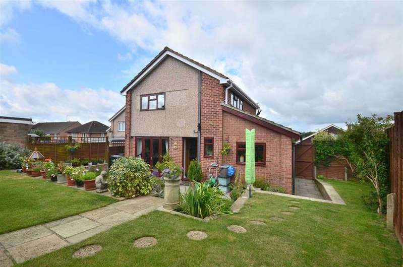 3 Bedrooms Detached House for sale in Campden Road, Tuiffley, Gloucester, GL4