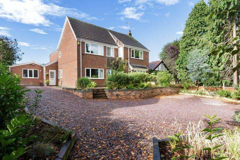 5 Bedrooms Detached House for sale in High Street Weaverham, Northwich, CW8