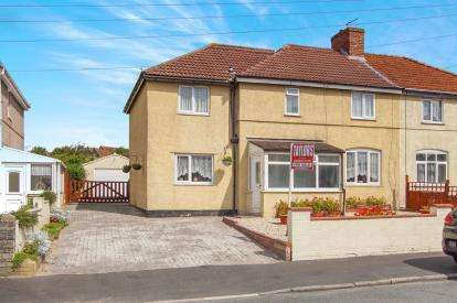 4 Bedrooms Semi Detached House for sale in Kingsway Avenue, St George, Bristol