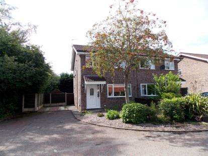 3 Bedrooms Semi Detached House for sale in Palliser Close, Birchwood, Warrington, Cheshire