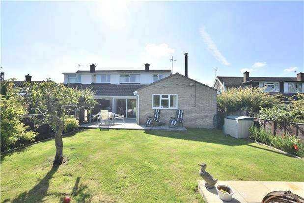 4 Bedrooms Semi Detached House for sale in Willow Road, Charlton Kings, CHELTENHAM, Gloucestershire, GL53
