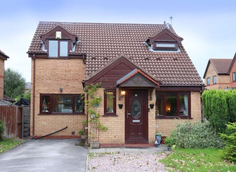 3 Bedrooms Detached House for sale in Elmwood Grove, Winsford, Cheshire, CW7