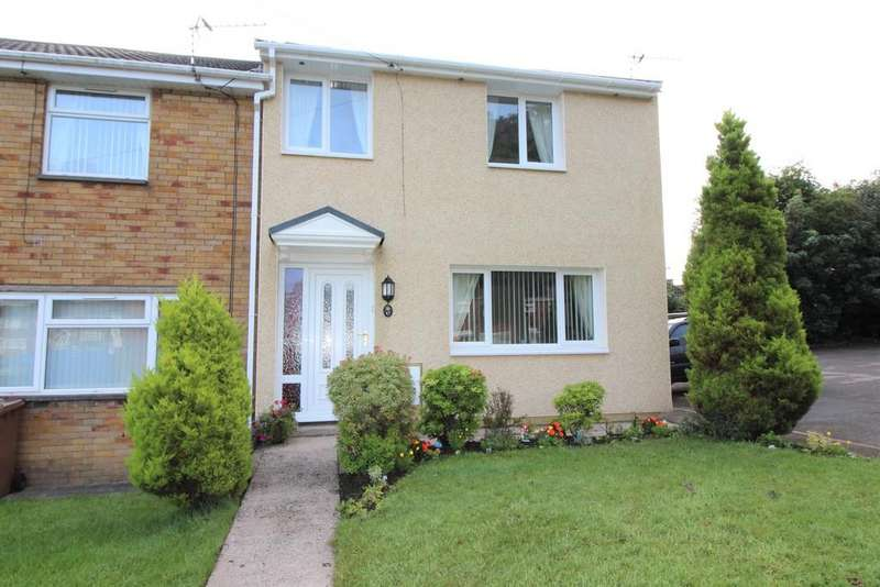 2 Bedrooms End Of Terrace House for sale in Apollo Way, Blackwood