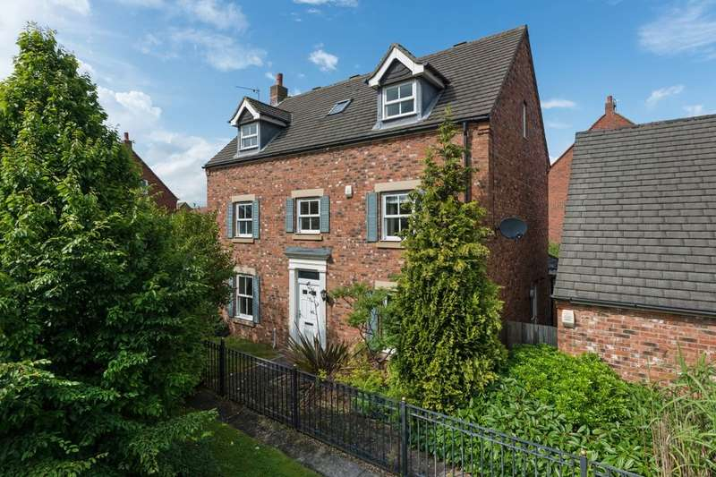 5 Bedrooms Detached House for sale in Warkworth Woods, Newcastle Upon Tyne, NE3