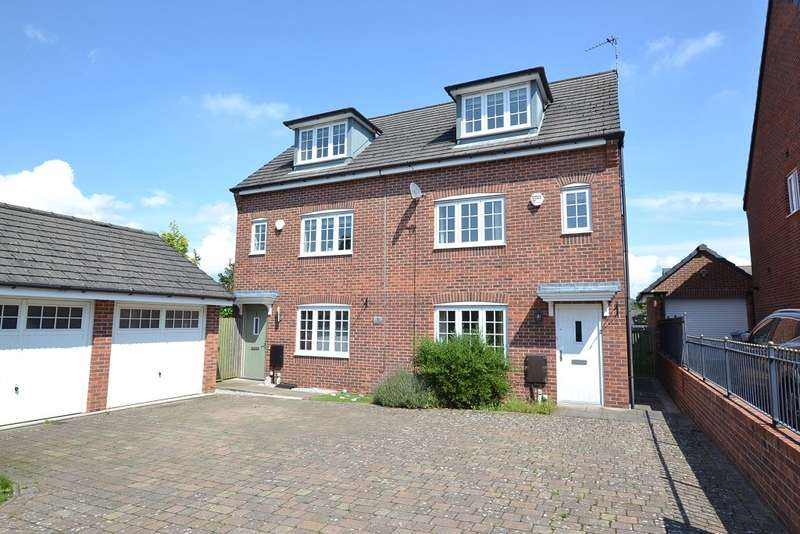 4 Bedrooms Semi Detached House for sale in Stanier Close, Macclesfield, Cheshire