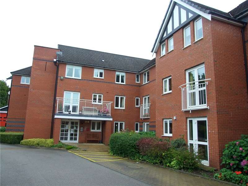1 Bedroom Flat for sale in Chatsworth Court, Park View, Ashbourne, Derbyshire, DE6