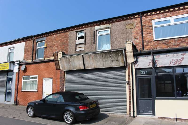 Commercial Property for sale in 223 Ormskirk Road, Wigan, Lancashire