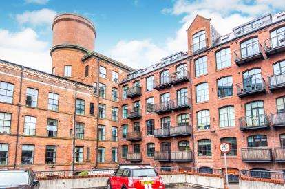 2 Bedrooms Flat for sale in Roberts Wharf, East Street, Leeds, West Yorkshire