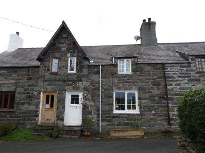 2 Bedrooms Terraced House for sale in Cross Terrace, Sling, Tregarth, Bangor, LL57