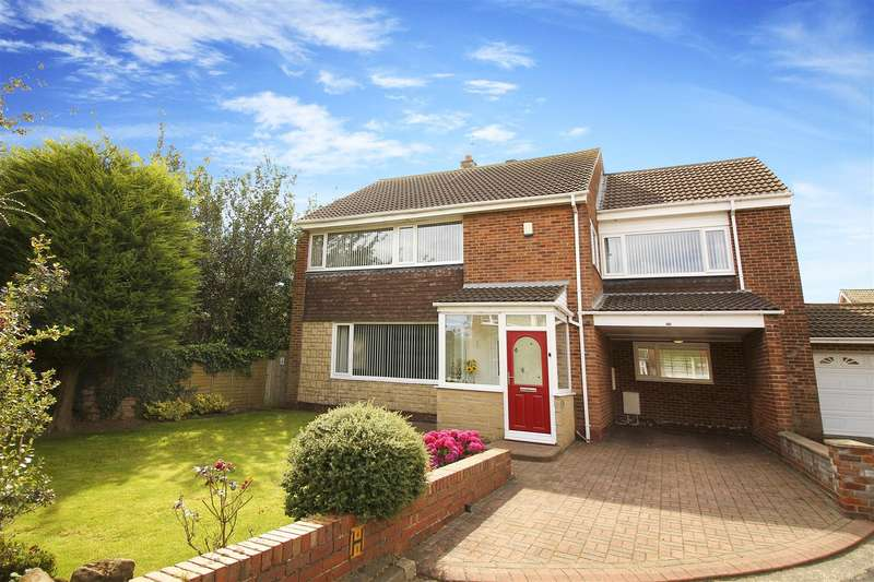 5 Bedrooms Detached House for sale in Wenlock Drive, North Shields