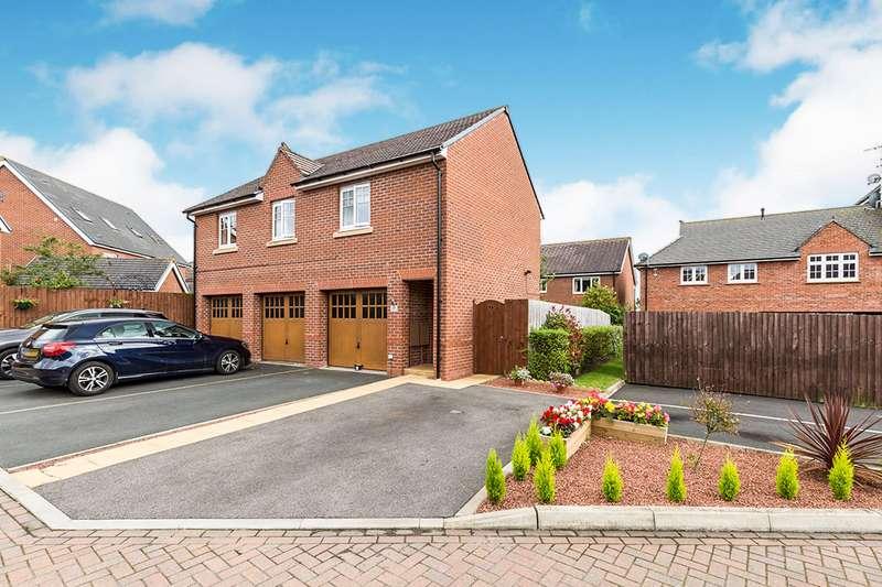 2 Bedrooms Apartment Flat for sale in Buckinghamshire Place, Buckshaw Village, Chorley, Lancashire, PR7