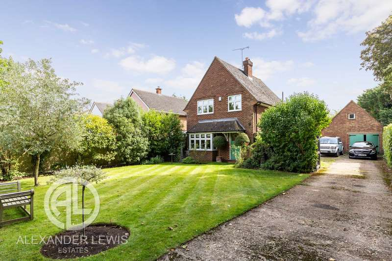 3 Bedrooms Detached House for sale in Wilbury Hills Road, Letchworth Gadren City, SG6 4LD