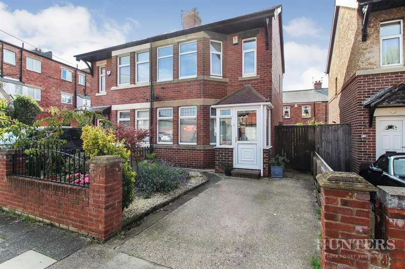 3 Bedrooms Semi Detached House for sale in Mitford Street, Fulwell, Sunderland, SR6 8HT