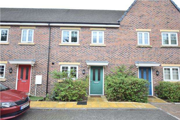3 Bedrooms Terraced House for sale in Canal Court, Hempsted, Gloucester, GL2 5GG