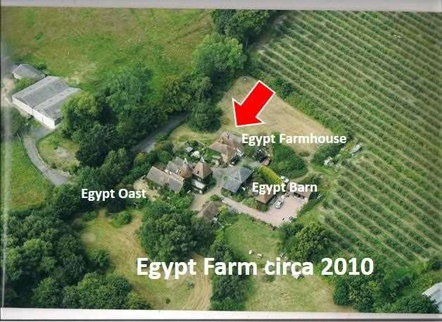 6 Bedrooms Detached House for sale in Egypt Farmhouse, Cryals Rd, Brenchley