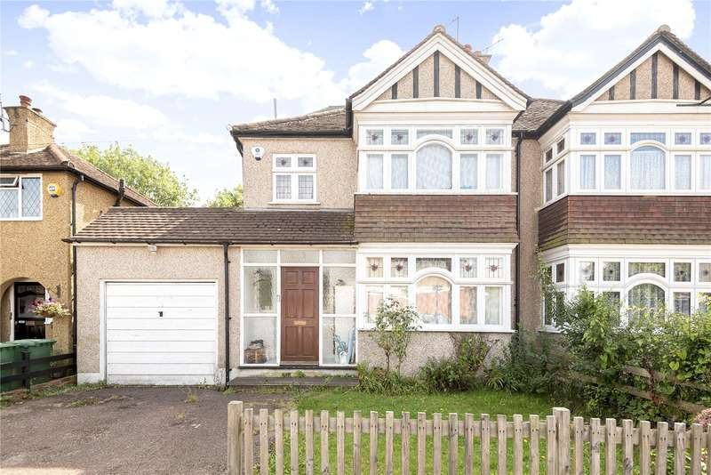 4 Bedrooms Semi Detached House for sale in Leighton Avenue, Pinner, Middlesex, HA5