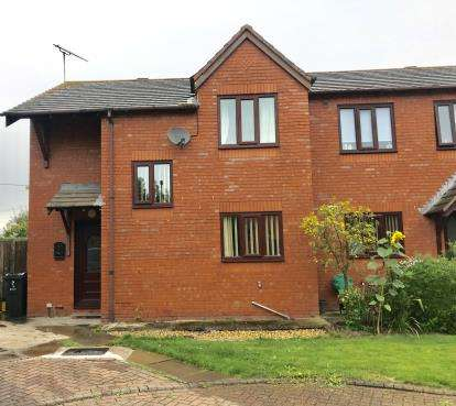 3 Bedrooms Semi Detached House for sale in Bullcroft Close, Shocklach, Malpas, Cheshire, SY14