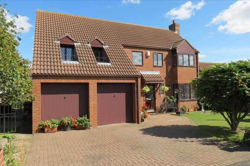 4 Bedrooms Detached House for sale in Southfields, Sleaford