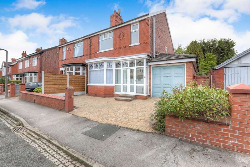 3 Bedrooms Semi Detached House for sale in Queens Road, Hazel Grove, Stockport, Greater Manchester, SK7