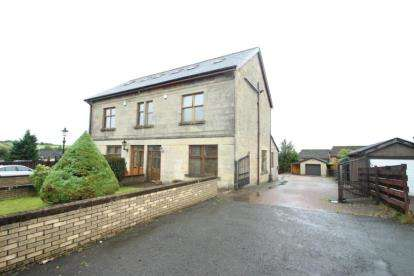4 Bedrooms Semi Detached House for sale in Towers Road, Airdrie, North Lanarkshire