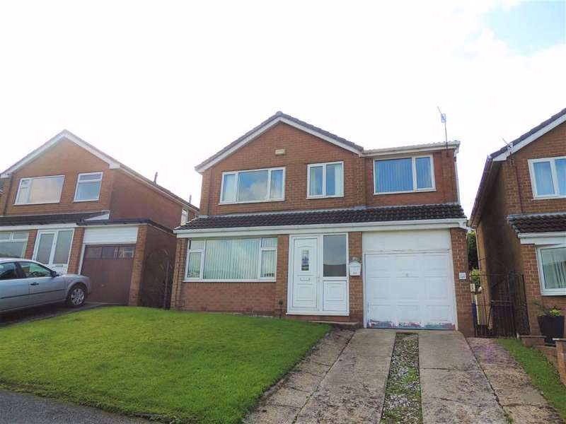4 Bedrooms Detached House for sale in Fold Crescent, Carrbrook, Stalybridge