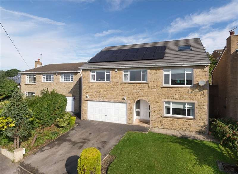 5 Bedrooms Detached House for sale in Leyfield, Baildon, West Yorkshire