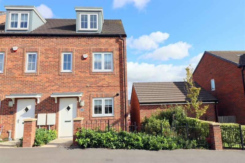 3 Bedrooms Semi Detached House for sale in Peppercorn Close, Shildon, DL4 2GP