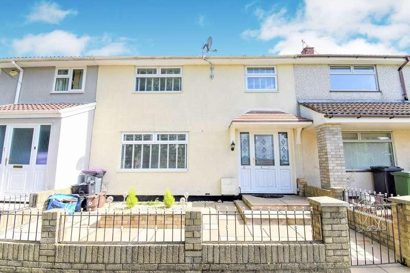 3 Bedrooms Terraced House for sale in Hazel Walk, Croesyceiliog, Cwmbran, NP44
