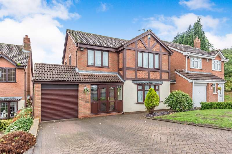 4 Bedrooms Detached House for sale in Longleat Drive, Milking Bank, Dudley, West Midlands, DY1