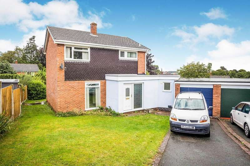 3 Bedrooms Detached House for sale in High Lea Close, Oswestry, Shropshire, SY11