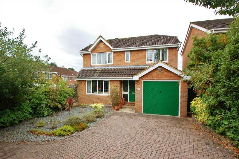4 Bedrooms Detached House for sale in NODENS WAY, LYDNEY