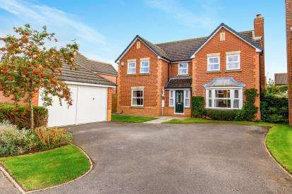 4 Bedrooms Detached House for sale in The Acres, Stokesley, North Yorkshire, Uk