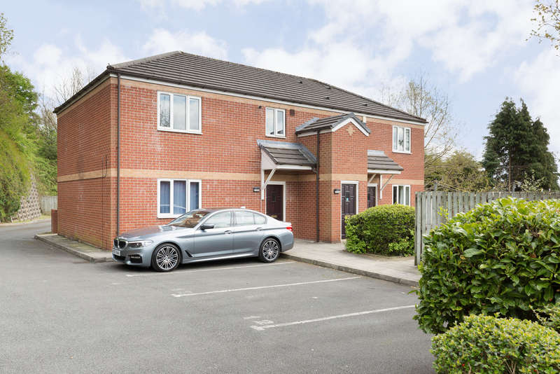 2 Bedrooms Ground Flat for sale in Fox Hill Court, Heaton Mersey