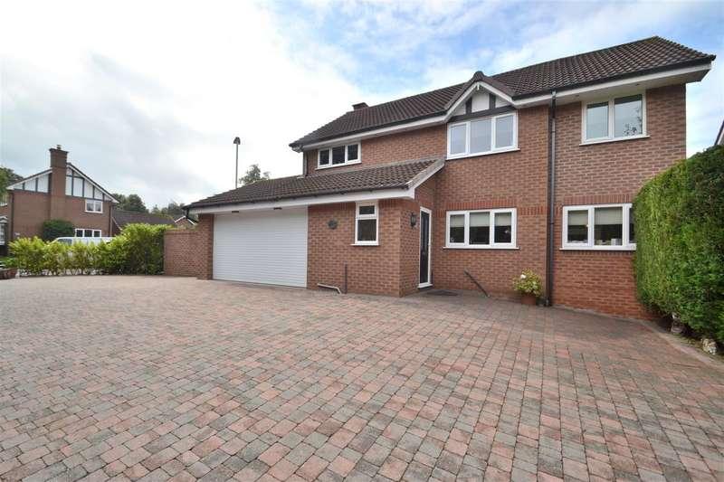 4 Bedrooms Detached House for sale in Shepperton Close, APPLETON, Warrington, WA4