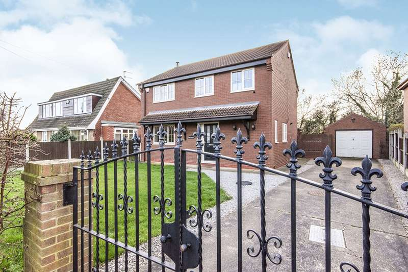 3 Bedrooms Detached House for sale in Dirty Lane, Fishlake, Doncaster, South Yorkshire, DN7