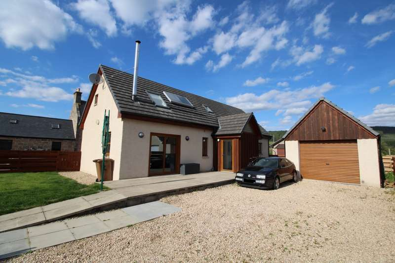 3 Bedrooms Detached House for sale in 1 Glen Cottage, Dallas, Forres, Morayshire, IV36