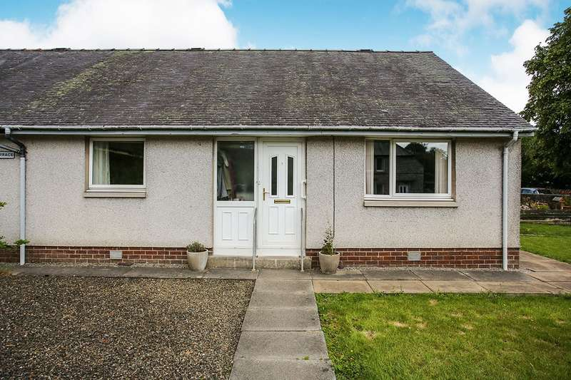 2 Bedrooms Semi Detached Bungalow for sale in Glenairlie Terrace, Dalbeattie, Kirkcudbrightshire, DG5