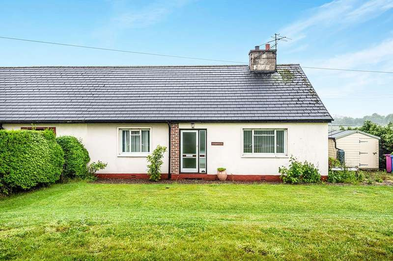 3 Bedrooms Semi Detached Bungalow for sale in Craigdalloch, Marypark, Ballindalloch, Banffshire, AB37