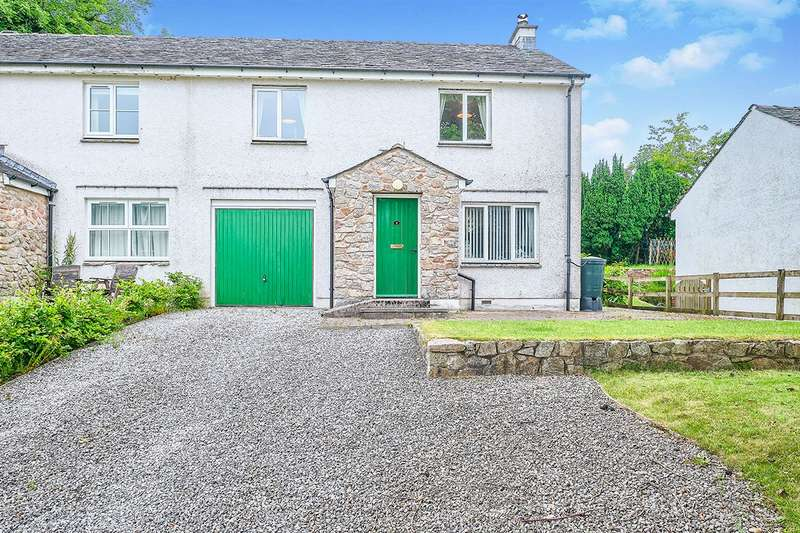 3 Bedrooms Semi Detached House for sale in Gatesyde Place, Eskdale, Holmrook, Cumbria, CA19
