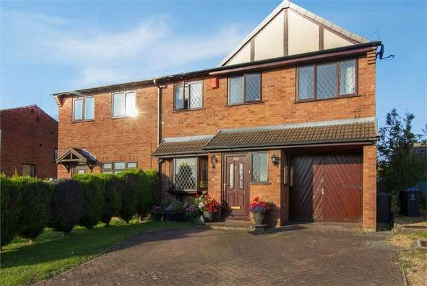 5 Bedrooms Semi Detached House for sale in Asquith Close, Biddulph, Stoke-on-Trent, Staffordshire
