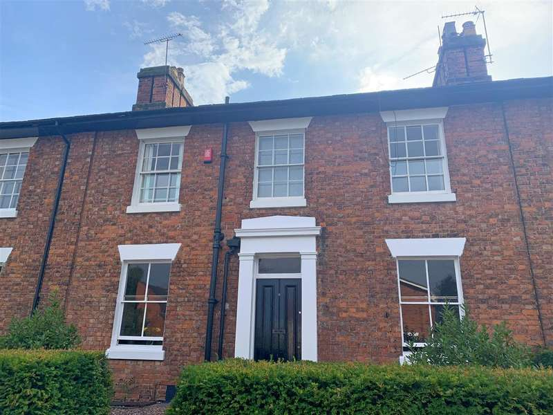 4 Bedrooms Terraced House for sale in Brunswick Terrace, Stafford