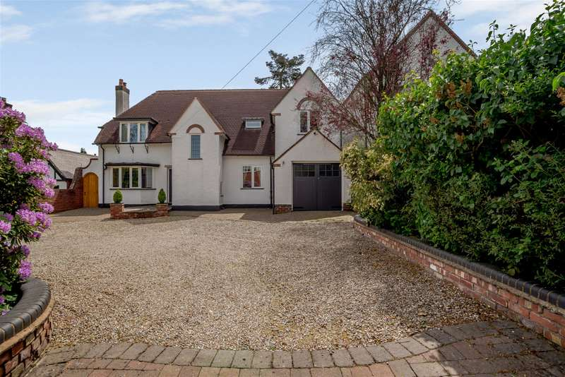 5 Bedrooms Detached House for sale in Foley Road East, Streetly, Sutton Coldfield, B74 3HN