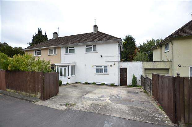 3 Bedrooms Semi Detached House for sale in Musgrove Close, Lawrence Weston, Bristol, BS11 0SL