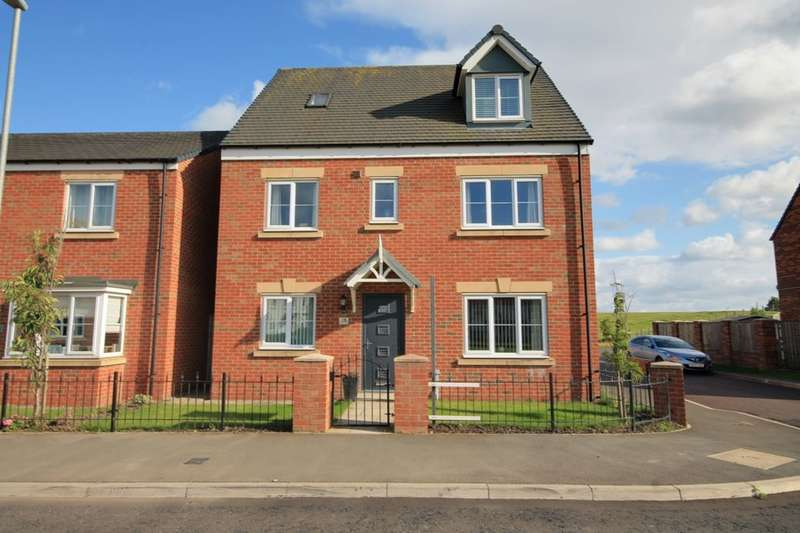 5 Bedrooms Detached House for sale in Kensington Way, Newfield, Chester Le Street, DH2