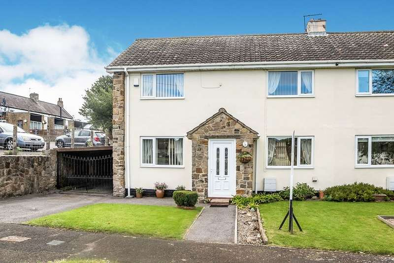 3 Bedrooms Terraced House for sale in Percy Way, Walbottle, Newcastle Upon Tyne, NE15