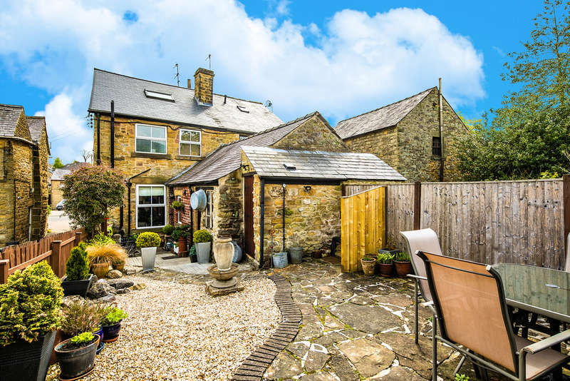 3 Bedrooms Semi Detached House for sale in The Square, Eyam, Hope Valley
