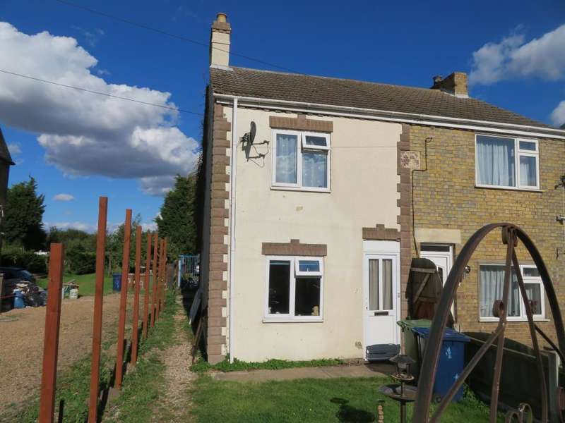 2 Bedrooms Semi Detached House for sale in Sandbank, Wisbech St Mary, Wisbech, PE13 4SE