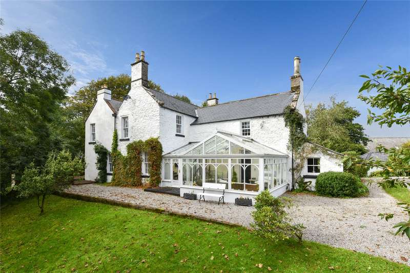 5 Bedrooms Detached House for sale in Jordieland Farmhouse, Kirkcudbright, Dumfries and Galloway, DG6
