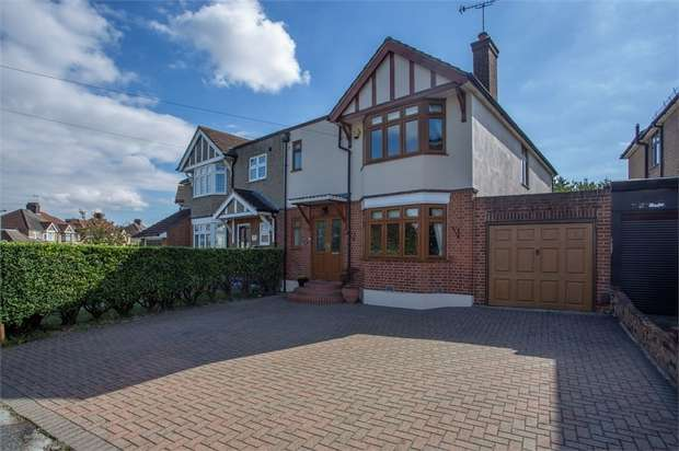4 Bedrooms Semi Detached House for sale in Langthorne Crescent, Grays, Essex