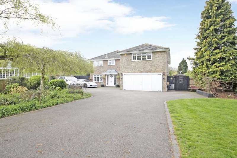 5 Bedrooms Detached House for sale in Castle Hill, Hartley, Longfield, DA3